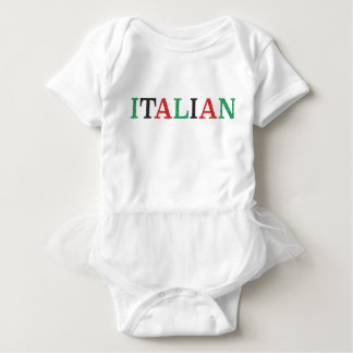 Tutú italiano body para bebé