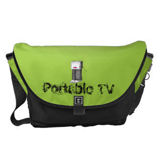 TV portátil grande Bolsa De Mensajería