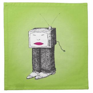 TV portátil Servilletas De Papel