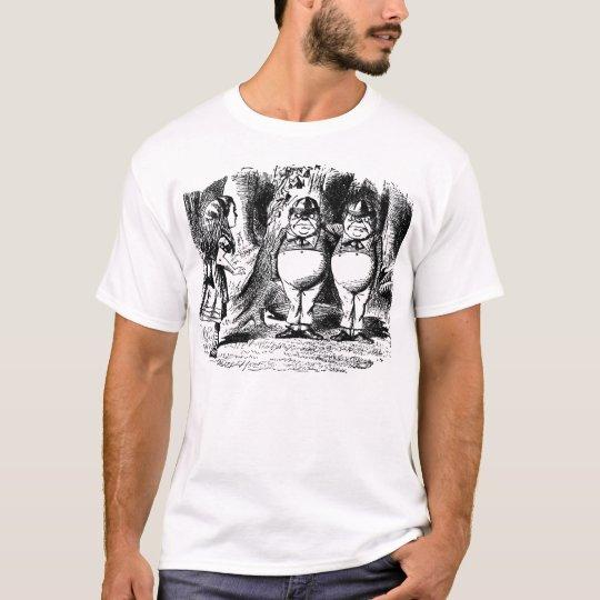 Tweedledum y Tweedledee Camiseta