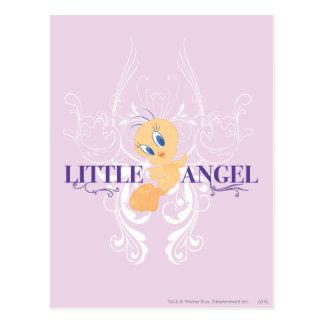 """Tweety """"poco ángel """" postal"""