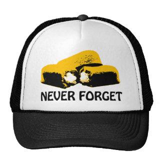 Twinkies nunca olvida diseño del alto contraste gorras de camionero