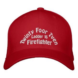 Twinty Foor 7ven Firefighter Gorra De Béisbol Bordada