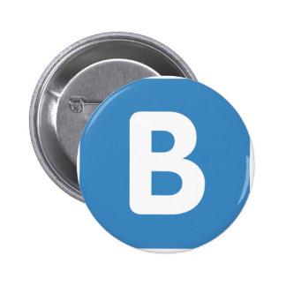 Twitter emoji - Letter B