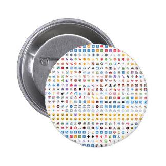 Twitter Emoji (Twemoji) Chapa Redonda 5 Cm
