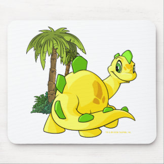 Tyrannian Chomby amarillo que mira Alfombrilla De Ratón