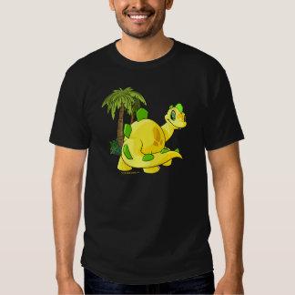 Tyrannian Chomby amarillo que mira Camisetas