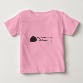 tzu de shih camiseta de bebé