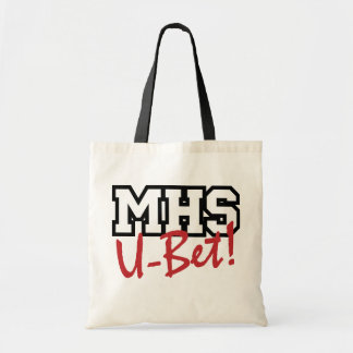 ¡U-Apuesta del MHS! Tote Bolsa Tela Barata