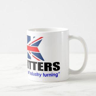 U.K. Taza de los ajustadores de la planta