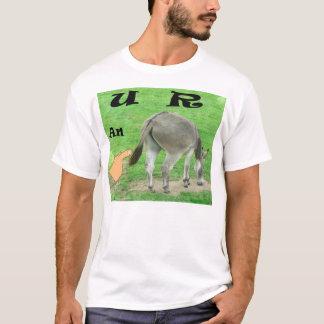 U R una camiseta del asno