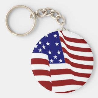 U S A Bandera Llavero Personalizado