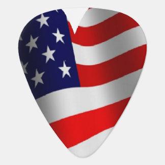 U.S. Bandera Uñeta De Guitarra