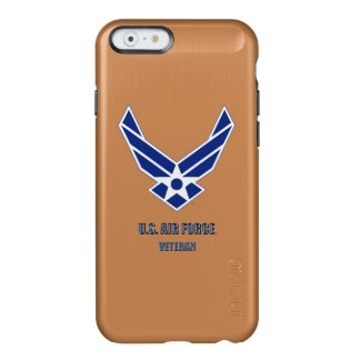 U.S. Caso del iPhone del veterano de la fuerza Funda Para iPhone 6 Plus Incipio Feather Shine