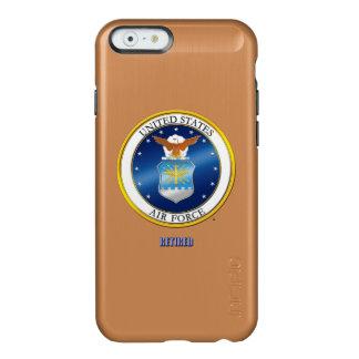 U.S. Casos jubilados fuerza aérea del iPhone Funda Para iPhone 6 Plus Incipio Feather Shine