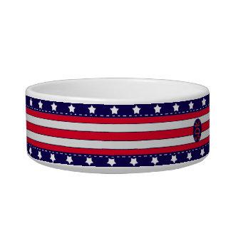 U.S. Celebración patriótica de festividades Comedero Para Mascota
