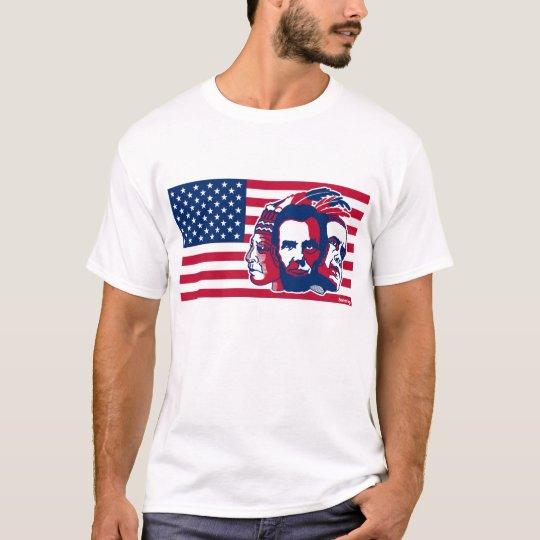 U.S.flag Camiseta