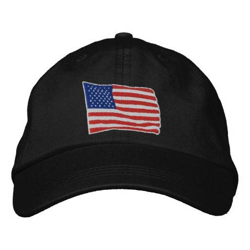 U.S. Gorra bordado bandera Gorras Bordadas