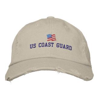 U.S. Gorra bordado del guardacostas