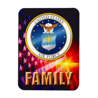 U.S. Imán flexible de la foto de la fuerza aérea