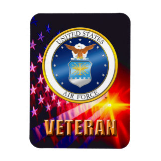 U.S. Imán flexible de la foto del veterano de la