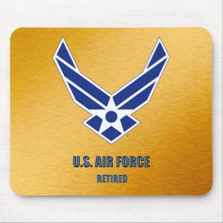 U.S. Mousepad jubilado fuerza aérea Alfombrilla De Ratón