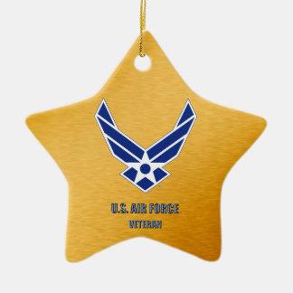U.S. Ornamento de cerámica del veterinario de la