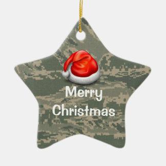 U.S. Ornamento militar de las Felices Navidad de