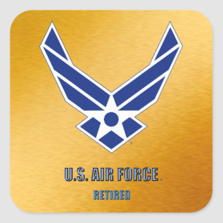 U.S. Pegatina jubilado fuerza aérea