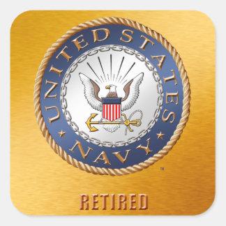 U.S. Pegatina jubilado marina de guerra