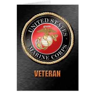 U.S. Tarjeta del veterano del Cuerpo del Marines