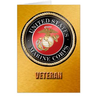 U.S. Tarjetas del veterano del Cuerpo del Marines