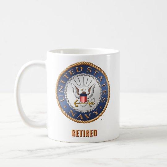 U.S. Taza jubilada marina de guerra
