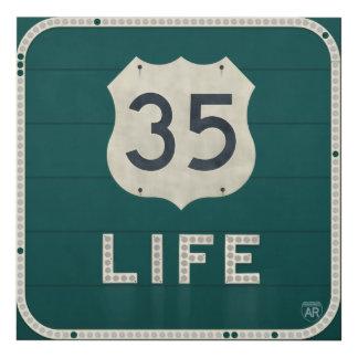 U.S. Vida 35 Cuadro