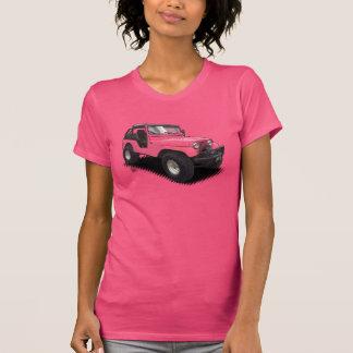 U-Selección el coche de cuatro ruedas del color en Camiseta