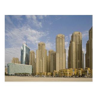 UAE, Dubai, puerto deportivo. Residencia de la Postal