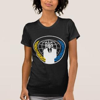 Ucrania ANÓNIMA Camisetas