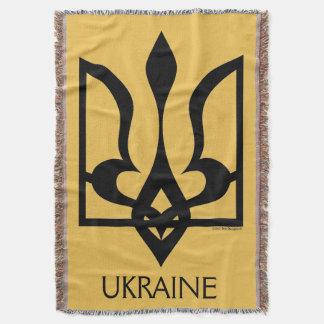 Ucrania - Tryzub. Manta del tiro