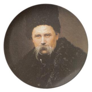 Ucraniano de Taras Shevchenko Plato De Comida