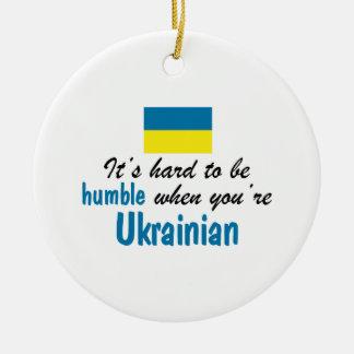 Ucraniano humilde ornamentos de reyes