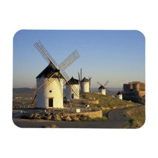 UE, España, La Mancha, Consuegra. Molinoes de vien Iman Flexible