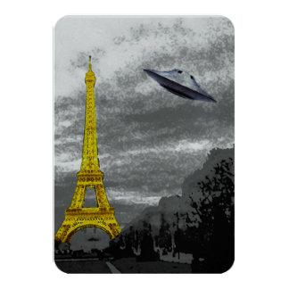 UFO en París Invitación 8,9 X 12,7 Cm