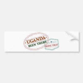 Uganda allí hecho eso pegatina para coche