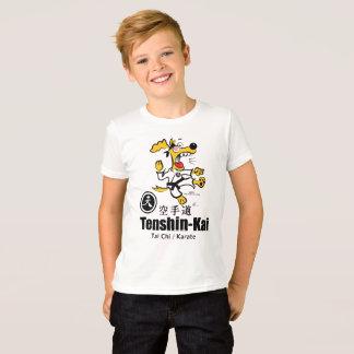 Ugmo la camiseta del perro del karate (niño)