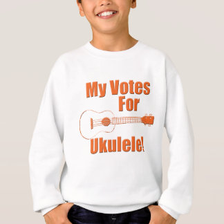 Ukulele del voto sudadera