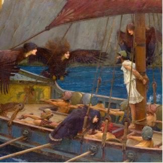 Ulises y las sirenas de John William Waterhouse Esculturas Fotograficas