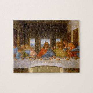 Última cena da Vinci Puzzle