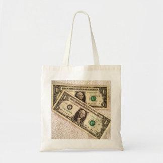 Último 2 dólares de bolsa de asas