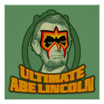 Último Abe Lincoln Impresiones