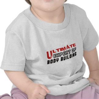 Último experto del edificio de cuerpo camisetas